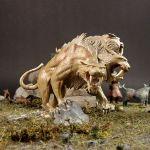 Sabertooth Cerberus von Malifaux